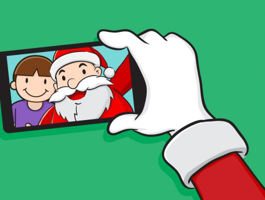 Santa Selfie at Southport Sharks