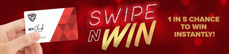 Swipe N Win Kiosk Promotion Southport Sharks