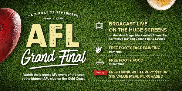 AFL Grand Final Southport Sharks