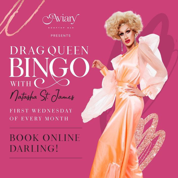 Aviary Rooftop Bar Drag Queen Bingo