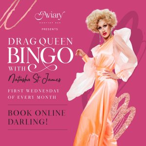 Aviary Drag Queen Bingo