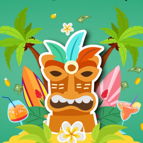 Southport Sharks Tropical Tiki Promotion