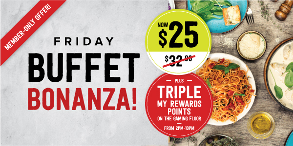 Friday Frenzys Buffet Bonanza