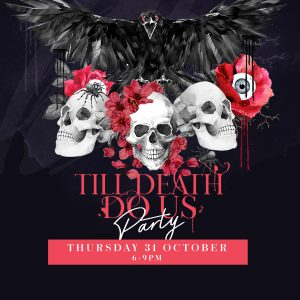 Till Death do us Party Aviary Rooftop Bar Halloween 2019