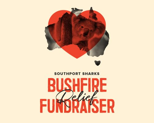 Southport_sharks_bushfire relief fundraiser appeal