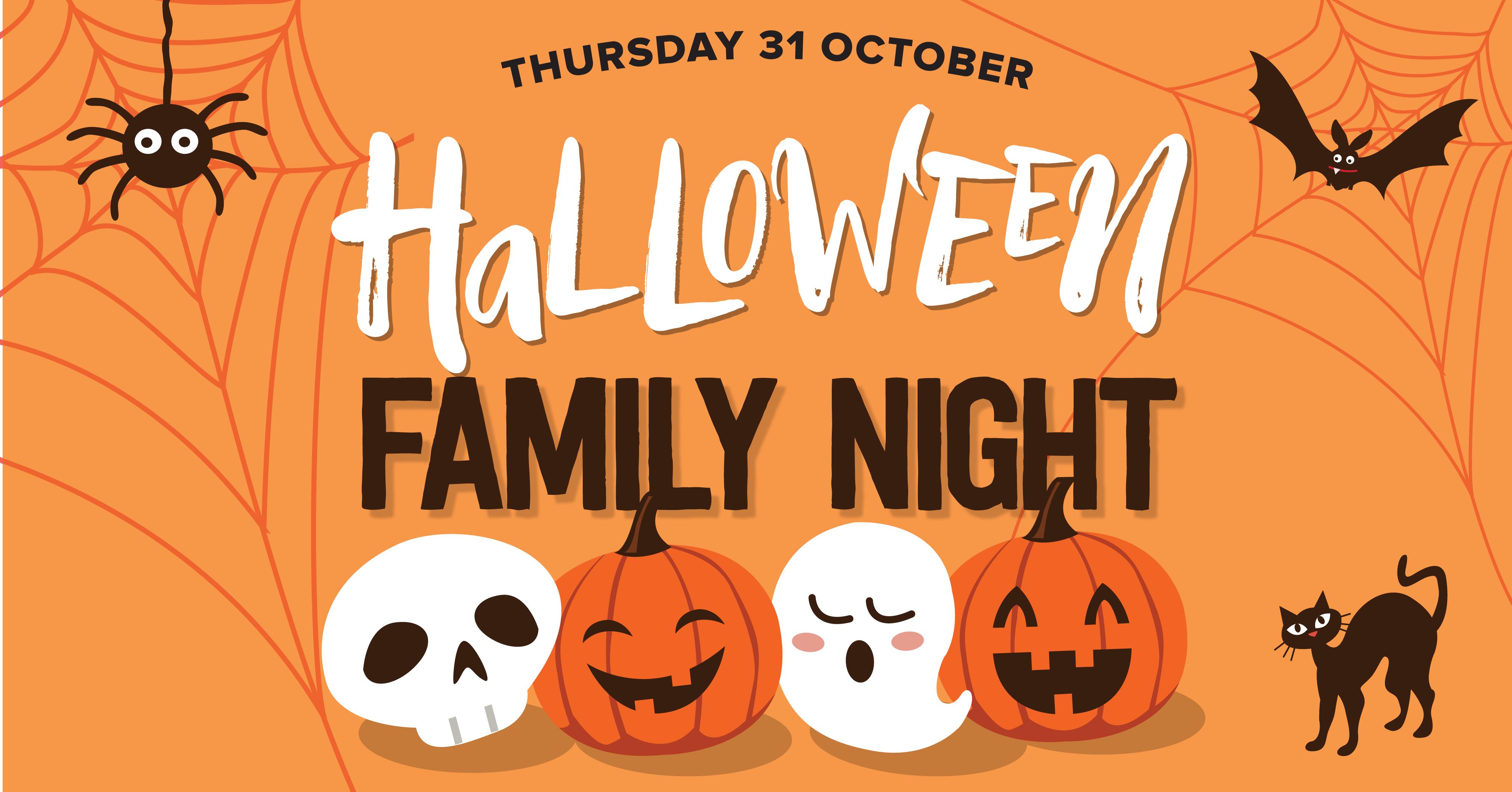 Halloween Family Night at Frenzy's