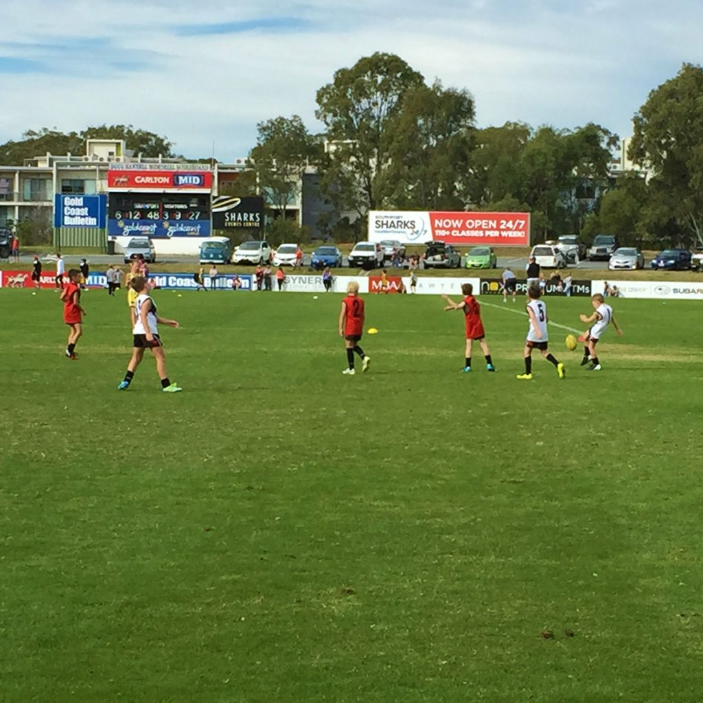 Sharks Junior AFL Gold Coast training