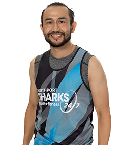 Southport Sharks Group Fitness Instructors - Cesar Zamora