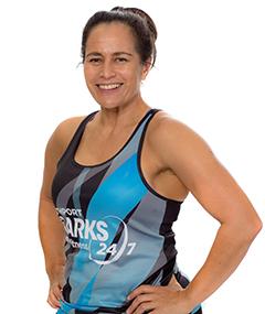 Southport Sharks Group Fitness Instructors - Karen Capper