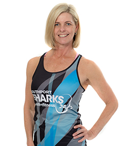 Southport Sharks Group Fitness Instructors - Melinda Frawley