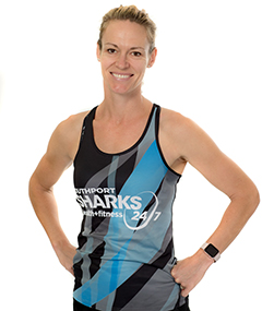 Southport Sharks Group Fitness Instructors - Nathalie Goulding