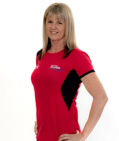 Southport Sharks Health and Fitness Personal Trainer Tracey Fairweather