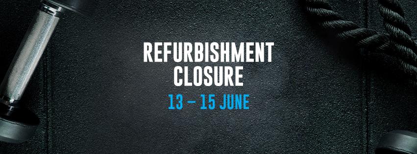 Sharks Fitness Refurbishment Closure