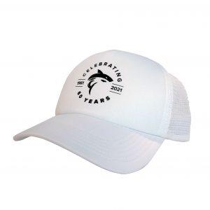60yr Hat - White