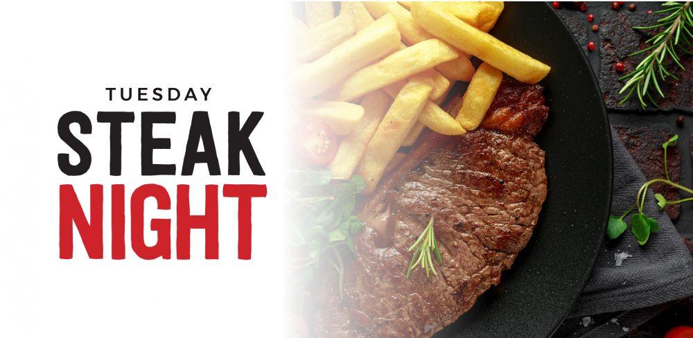 Tuesday Steak Night Frenzy's