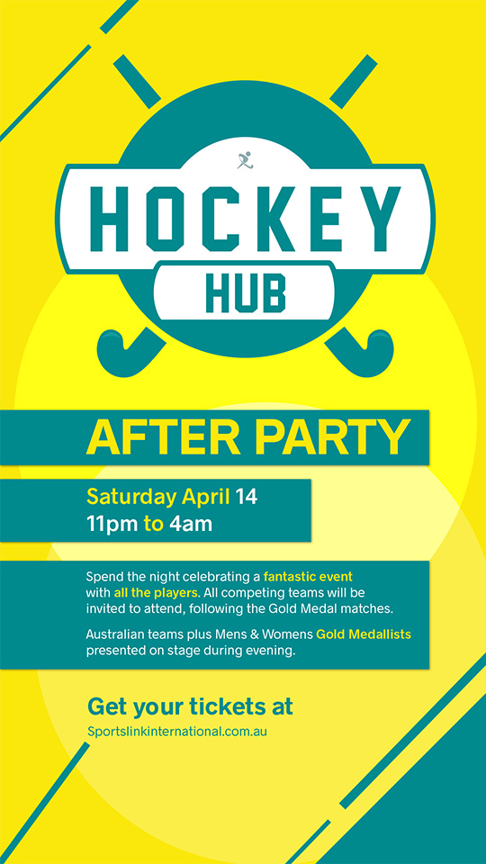 Southport Sharks is the Official Hockey Hub After Party venue for Hockey Australia