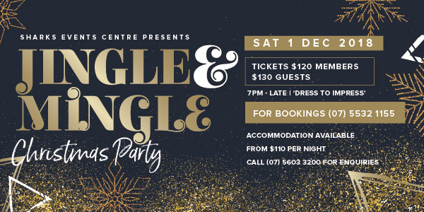 Jingle & Mingle Sharks Events Centre