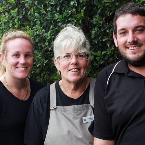 Emma, Lesley & Gavin Mother's Day