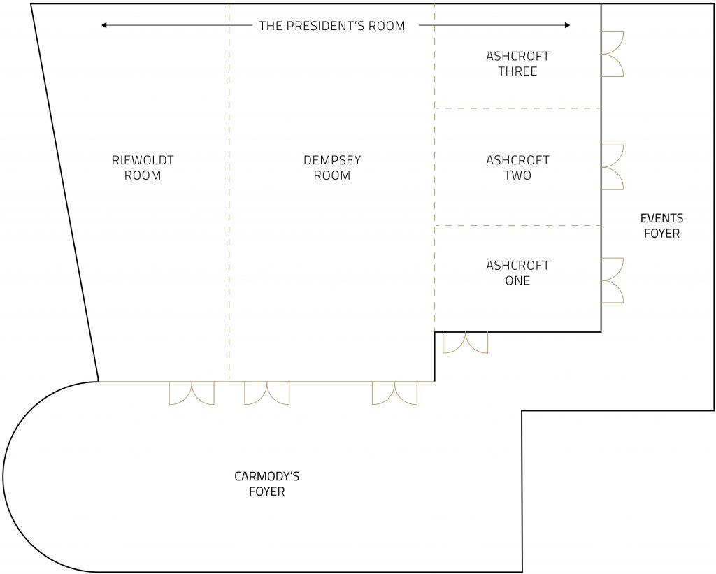 Event Centre Floor Plan