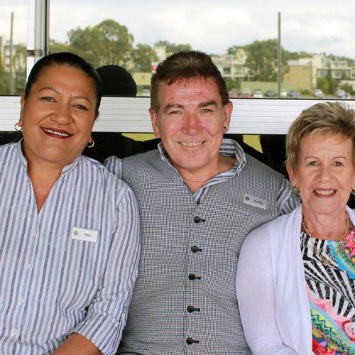 Fee, Justin & Cheryl Southport Sharks Staff Anniversary