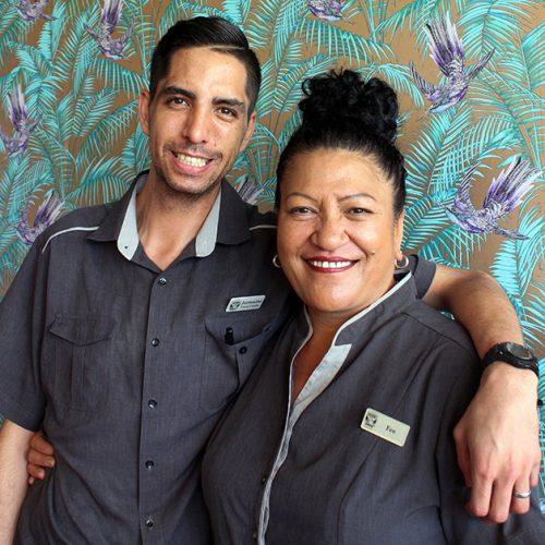 Fiona and Jermaine Sharks Staff Blog