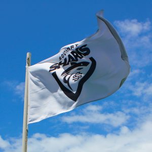 Southport Sharks football flag