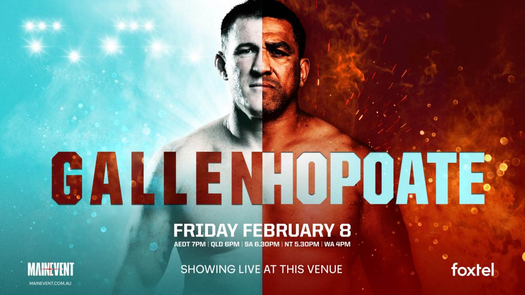 Boxing Gallen v Hopoate