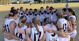 Southport Sharks Women's Team - Heading to the finals