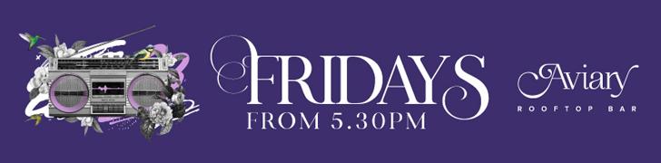 Fridays at Aviary Rooftop Bar