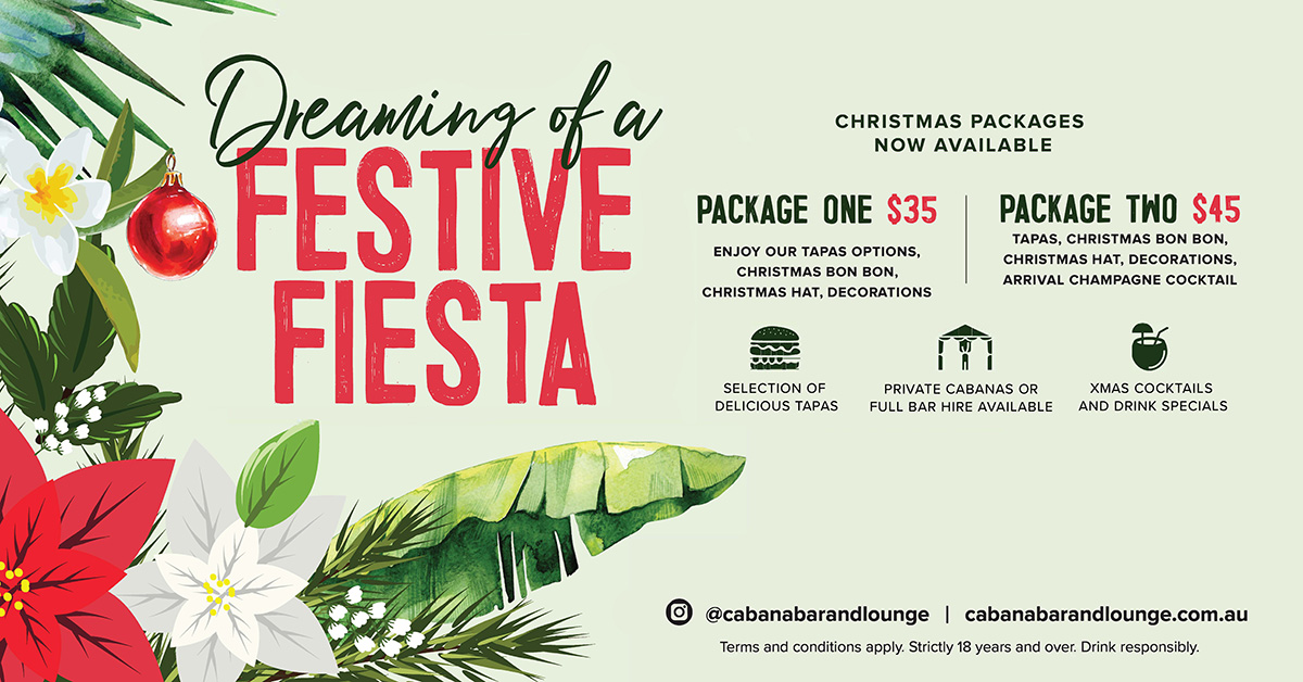 Cabana Bar & Lounge Christmas Packages
