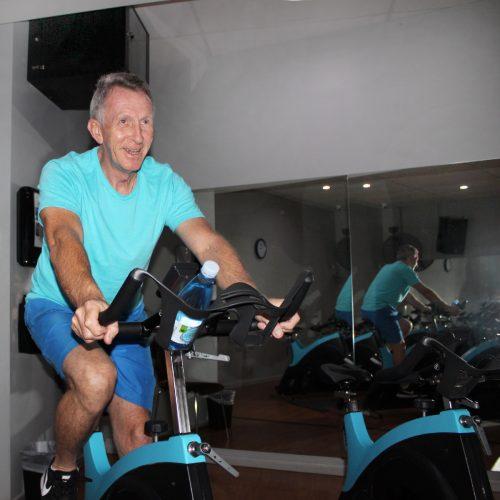 Sharks Fitness Centre Member Chris Soames