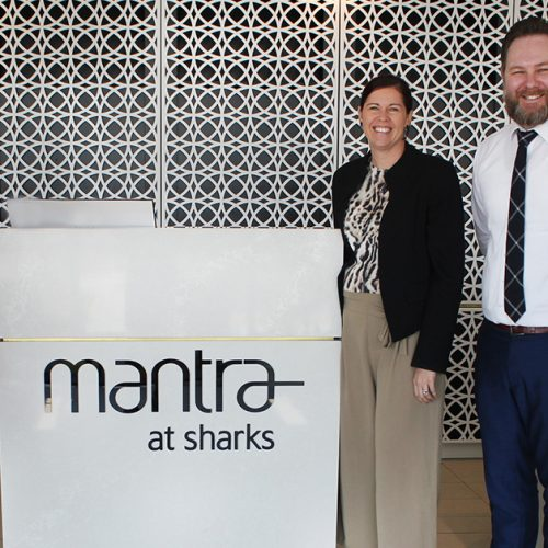 Mantra at Sharks become Gold Coast Hospital Foundation Emergency Provider