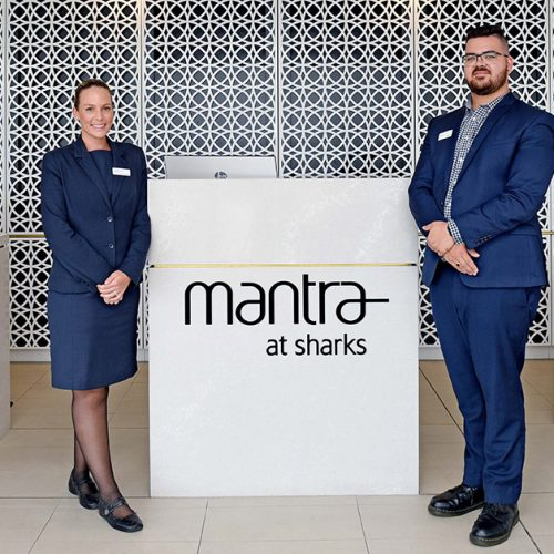 Mantra at Sharks reception