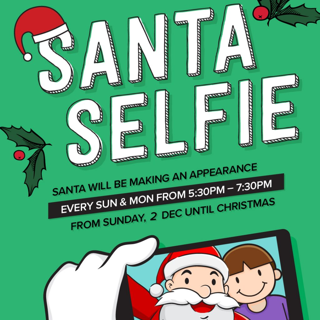 Santa Selfie 2018