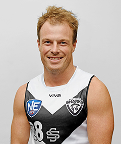 2018 Southport sharks NEAFL Rob Clements