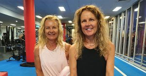 Group Fitness sisters Kelly & Deb