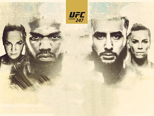 UFC 247 in Mackenzie's