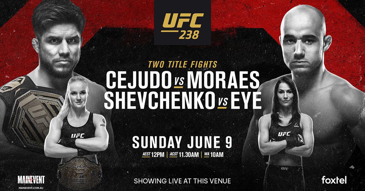 UFC238 at Mackenzie's