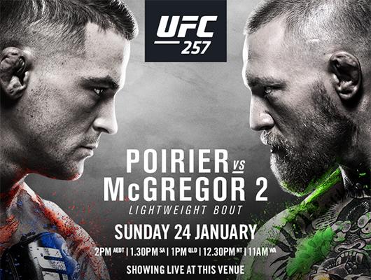 UFC 257 at Mackenzie's