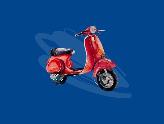 Win a Vespa Aviary Rooftop Bar