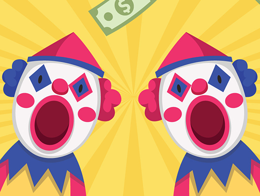 Southport Sharks Clown Currency