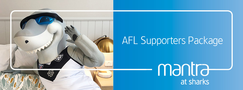 AFL Supporters Package Mantra at Sharks